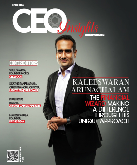 Kaleeswaran Arunachalam: The Financial Wizard Making a Difference through his Unique Approach